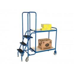 2 Shelf Order Picking Trolleys BC51